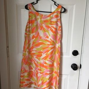 J Crew Silk Sheath Dress